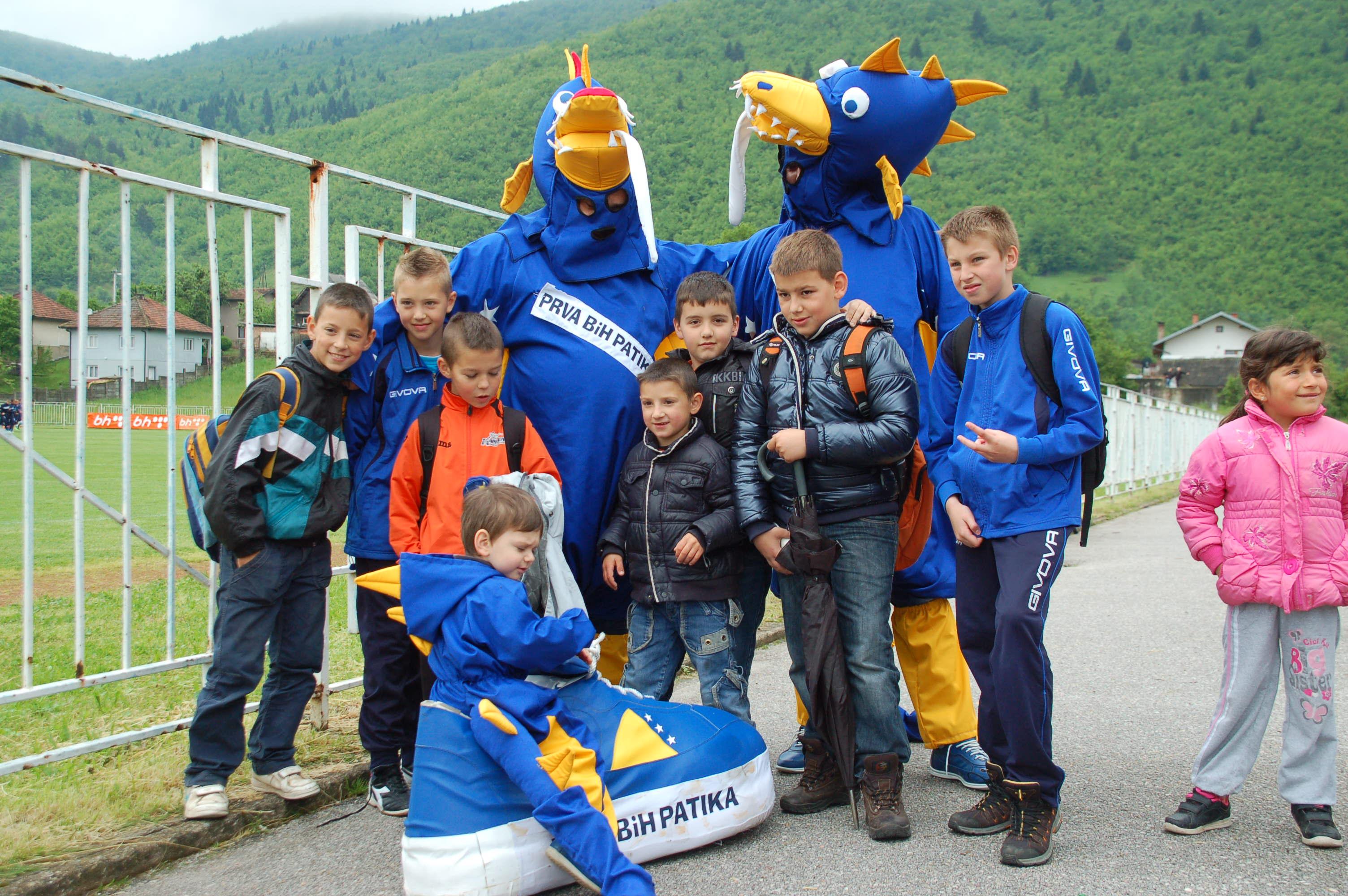 Kleine Fußballfans in Sarajevo_Mai 2014_Katrin Lechler